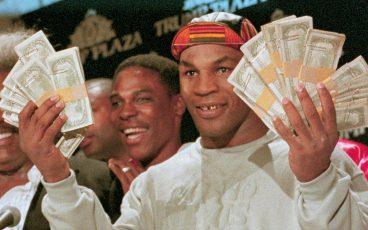 Demasiados boxeadores terminan despilfarrando todo su dinero