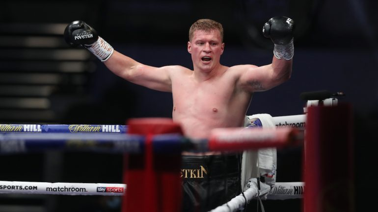Alexander Povetkin tests positive for COVID-19, Dillian Whyte rematch postponed