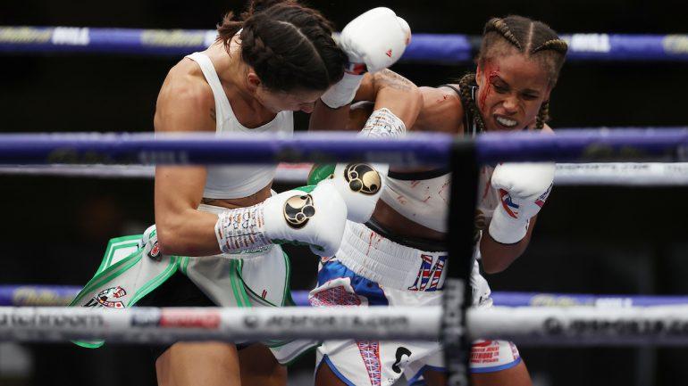 Terri Harper and Natasha Jonas battle to a draw, Harper retains WBC 130-pound title