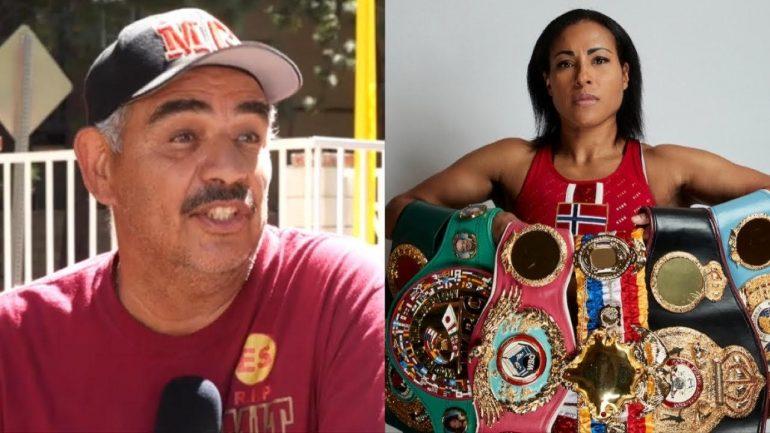 Watch: Abel Sanchez speaks on Cecilia Braekhus' attempt at surpassing Joe Louis' 25 defense streak