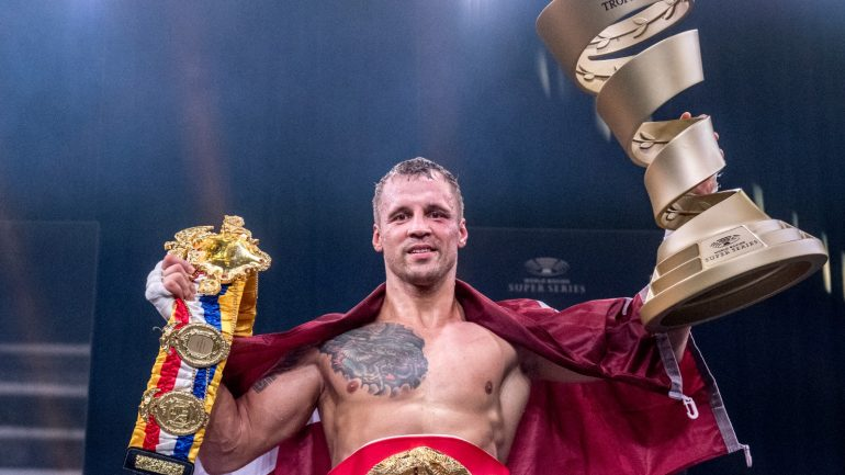 Mairis Briedis to defend Ring and IBF 200-pound titles against Artur Mann on October 16