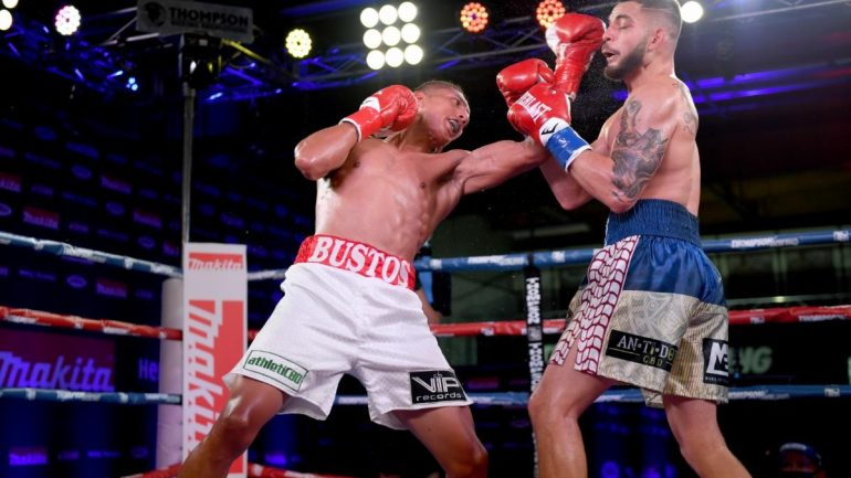 Saul Bustos outpoints Luis Lopez in 3.2.1 Boxing main event