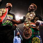 Charlo and James with the belts WESTCOTT 118 150x150 - Ring Ratings Update: Jermell Charlo, Mairis Briedis win Ring championships