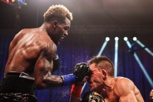 Charlo blasts Derevyanchenko with an uppercut 1 300x200 - Dougie's Monday Mailbag (The Charlos, Luis Nery, undisputed status)