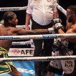 Eg8G7 MWAAIUUzd 150x150 - Akeem Ennis-Brown wins British and Commonwealth 140-pound titles, decisions Philip Bowes