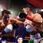 Figueroa vs. Vazquez action 150x150 - Brandon Figueroa scores one-sided tenth round TKO of Damien Vazquez