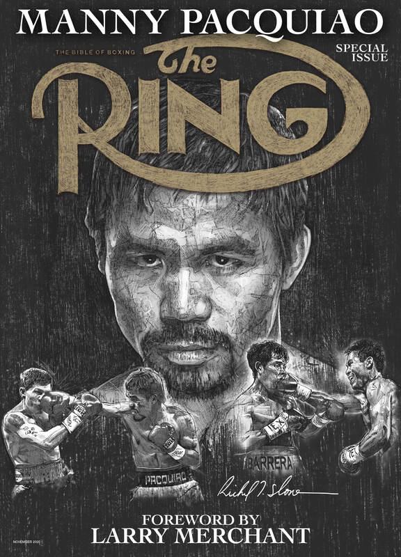 RING 11NOV20 COVER FINAL - Charles Conwell is ready for his real return to the ring