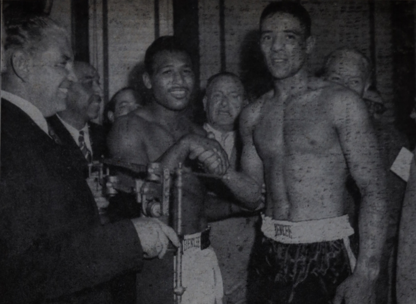 RobinsonTurpin2 2 - From the archive: Sugar Ray Robinson is king again, stops Randy Turpin in 10