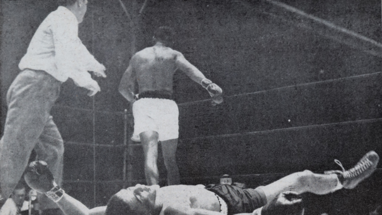 From the archive: Sugar Ray Robinson is king again, stops Randy Turpin in 10
