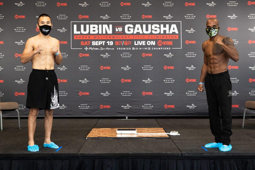 SHO Lubin Gausha Weigh In 010 1024x683 - Photos: Erickson Lubin, Terrell Gausha make weight for WBC eliminator