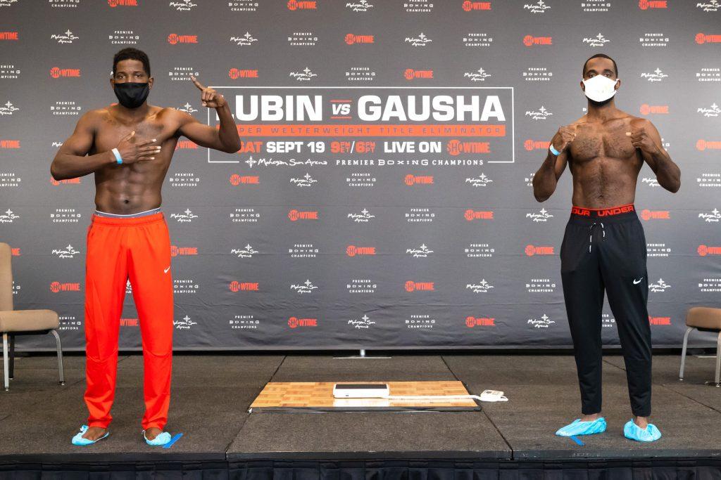 SHO Lubin Gausha Weigh In 017 1024x683 - Photos: Erickson Lubin, Terrell Gausha make weight for WBC eliminator