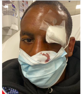 Jamel Herring got called a quitter after eight rounds of combat with Jonathan Oquendo on Sept. 5, 2020.