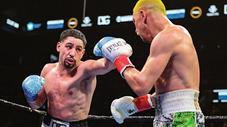 Danny Garcia is comfortable with being the underdog again against Errol Spence