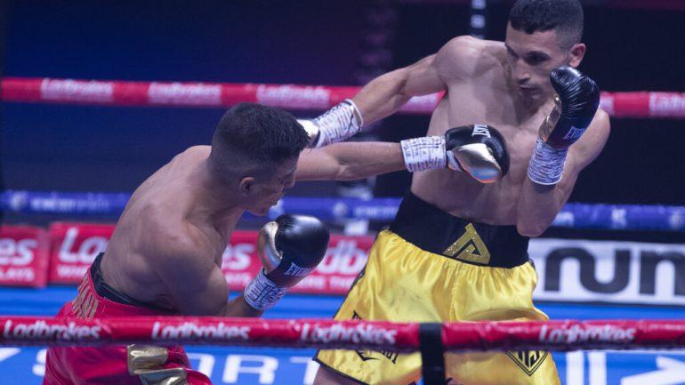 Samir Ziani scores explosive 12th-round stoppage over Alex Dilmaghani, retains European 130-pound title