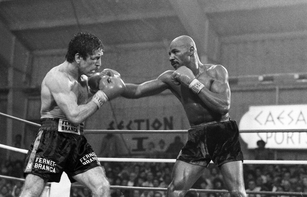 rsz gettyimages 156561273 1024x657 - Marvelous Marvin Hagler-Alan Minter: Victory violated 40 years on
