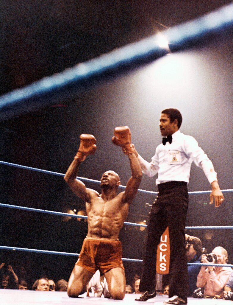 rsz gettyimages 157456075 783x1024 - Marvelous Marvin Hagler-Alan Minter: Victory violated 40 years on