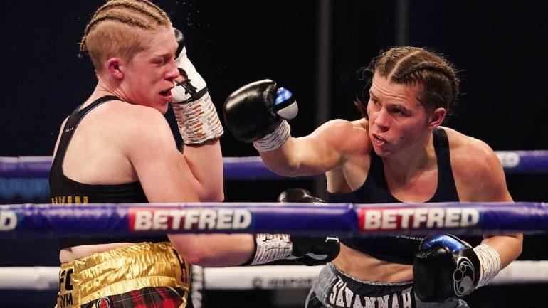 Savannah Marshall stops Hannah Rankin in seven, claims WBO middleweight title