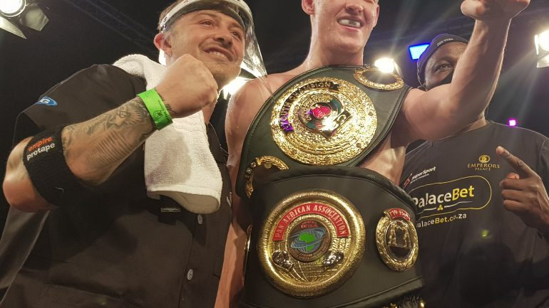 Brandon Thysse stops Boyd Allen in 3 rounds in return of South African boxing