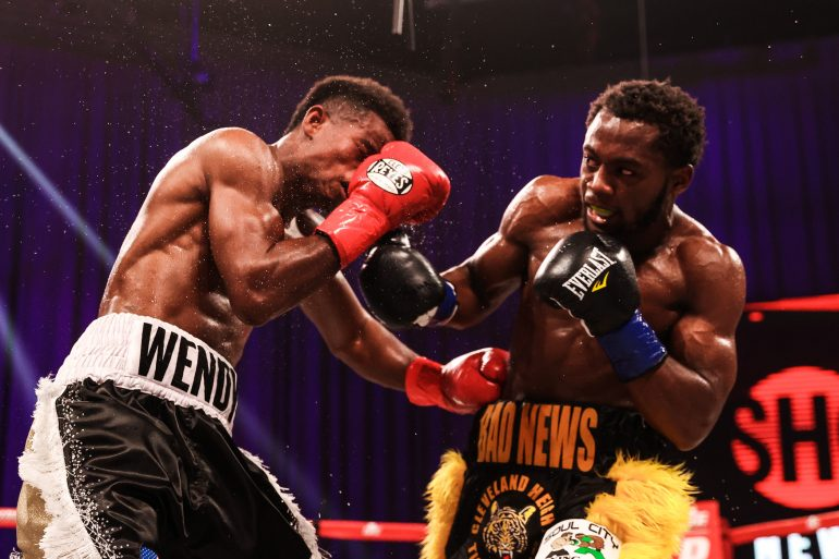 Charles Conwell shakes off hand pain, knocks out Wendy Toussaint in round 9  - The Ring