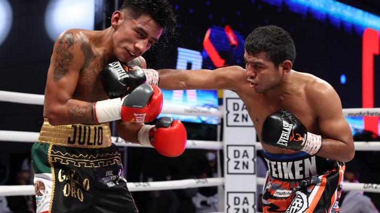 Roman Gonzalez overcomes youthful Israel Gonzalez, batters him to retain title