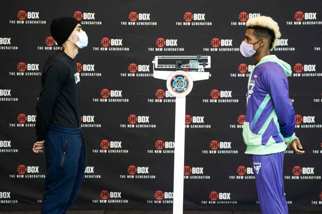 SHObox Conwell v Toussaint Weigh In WESTCOTT 007 1024x683 - Photos: Charles Conwell, Wendy Toussaint make weight for return of ShoBox