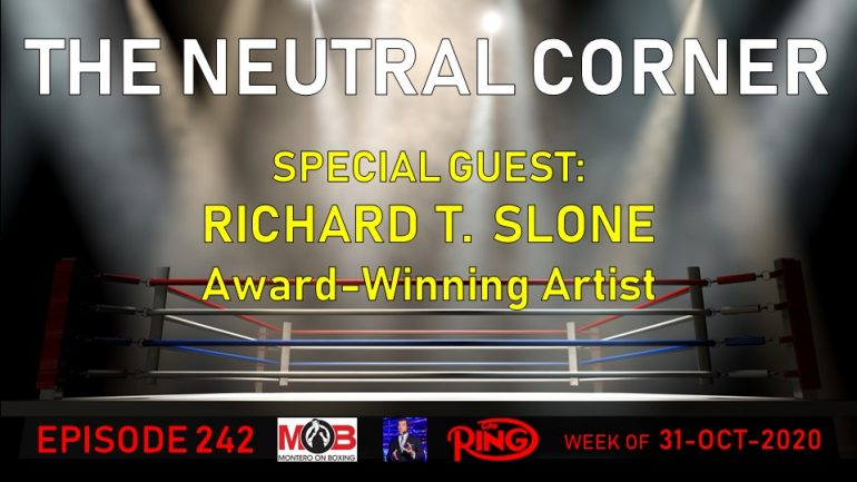 The Neutral Corner, Episode 242 recap (Richard Slone joins, Estrada and Chocolatito win, battling Halloween cards)