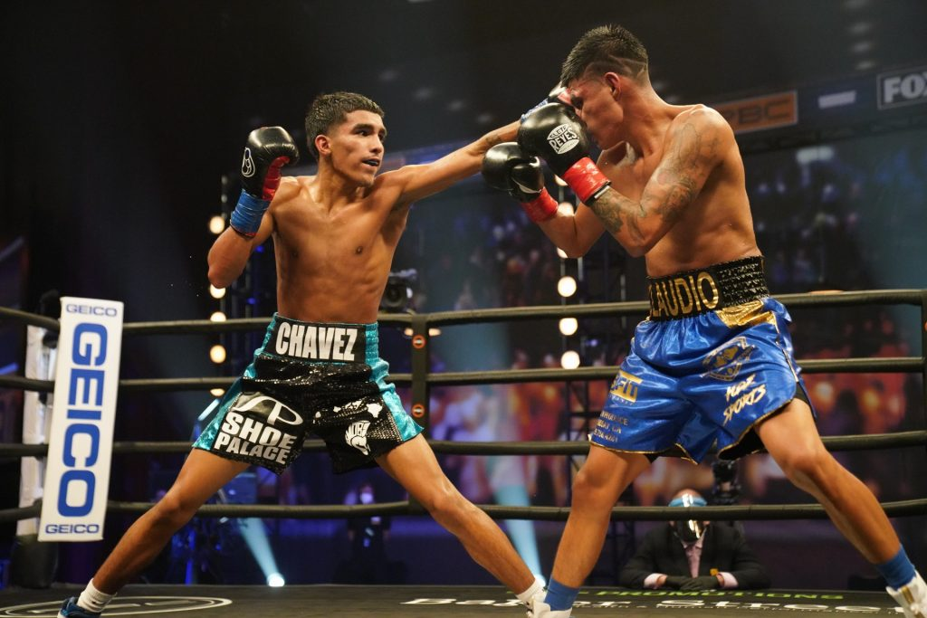 chavez barrientes ivan varela 1024x683 - Mark Magsayo overcomes tough Rigoberto Hermosillo, wins split decision in LA