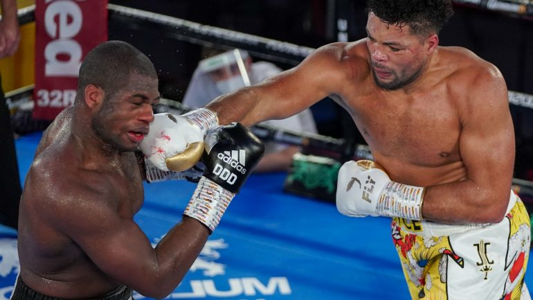 Joe Joyce pulls off the shocker, drops and stops Daniel Dubois in 10 rounds