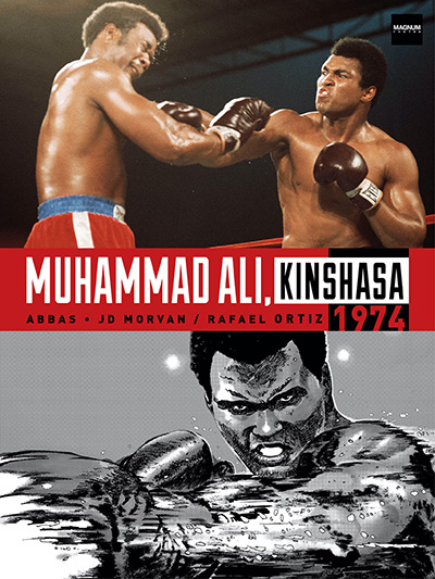 Ali Kinshasa 1974 cover - Ali and Foreman dazzle in new graphic novel on the 'Rumble in the Jungle'