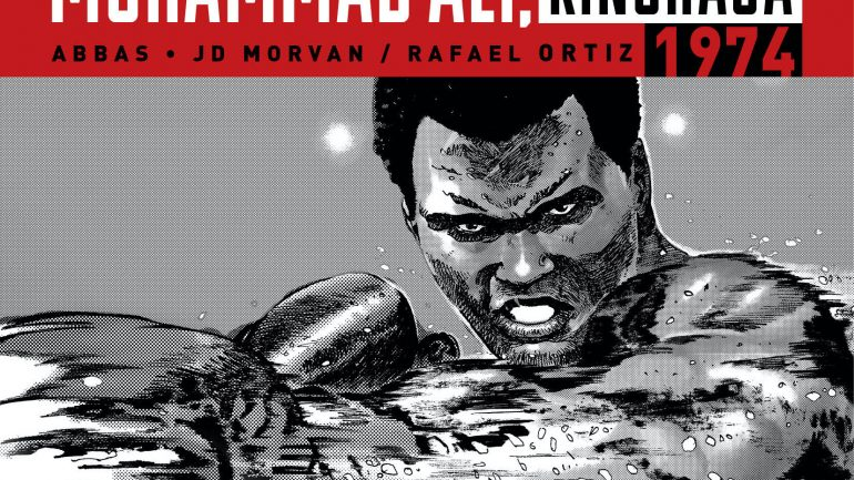 Ali and Foreman dazzle in new graphic novel on the 'Rumble in the Jungle'