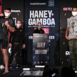 BJ2I0238 150x150 - Photos: Devin Haney, Yuriorkis Gamboa make weight for WBC lightweight title fight