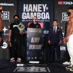 BJ2I0267 150x150 - Photos: Devin Haney, Yuriorkis Gamboa make weight for WBC lightweight title fight