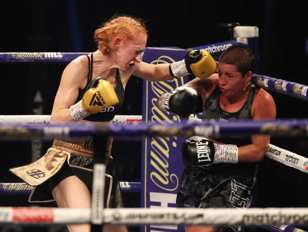 MDR17600 1024x772 - Katie Taylor dominates Miriam Gutierrez for decision triumph, Terri Harper and Rachel Ball win