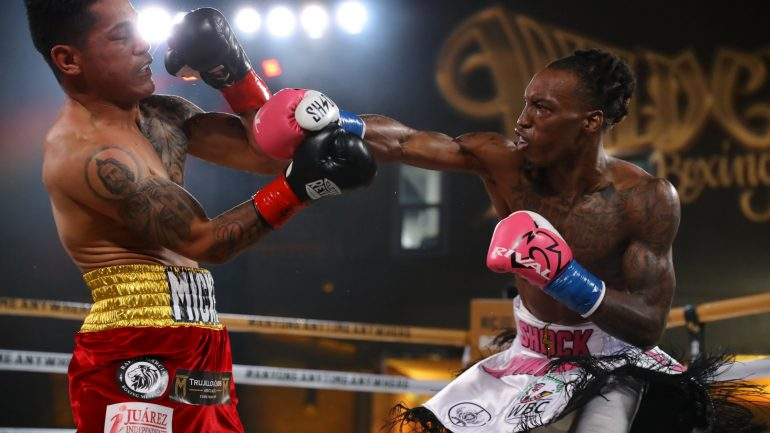 O'Shaquie Foster stops Miguel Roman in round 9 in Ring City USA opener