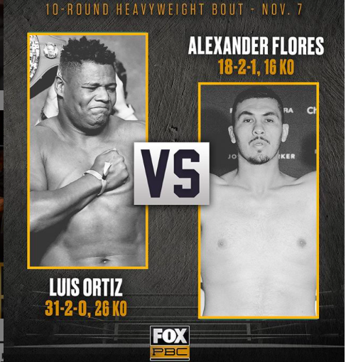 Screen Shot 2020 11 07 at 10.16.54 PM - Luis Ortiz returns to ring, gets easy work stoppage over Alexander Flores