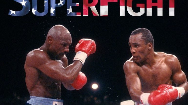 Brian Doogan scores a knockout with 'SuperFight,' taking a deep dive into the Hagler-Leonard blockbuster
