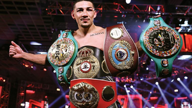 Teofimo Lopez is Ring Magazine co-Fighter of the Year 2020 alongside Tyson Fury