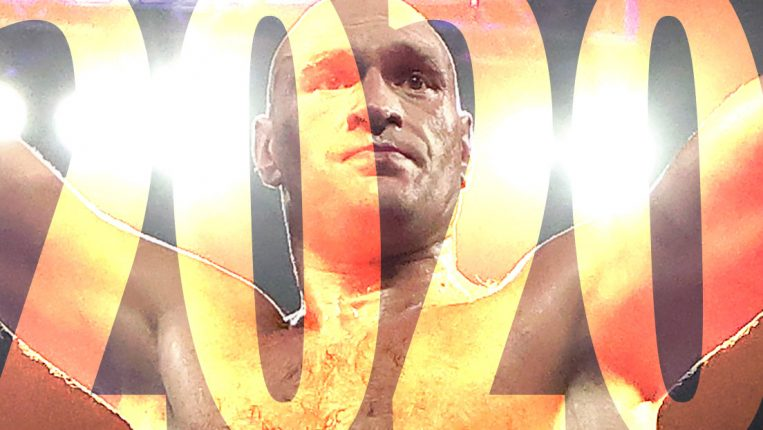 Co-Fighter of the Year Tyson Fury