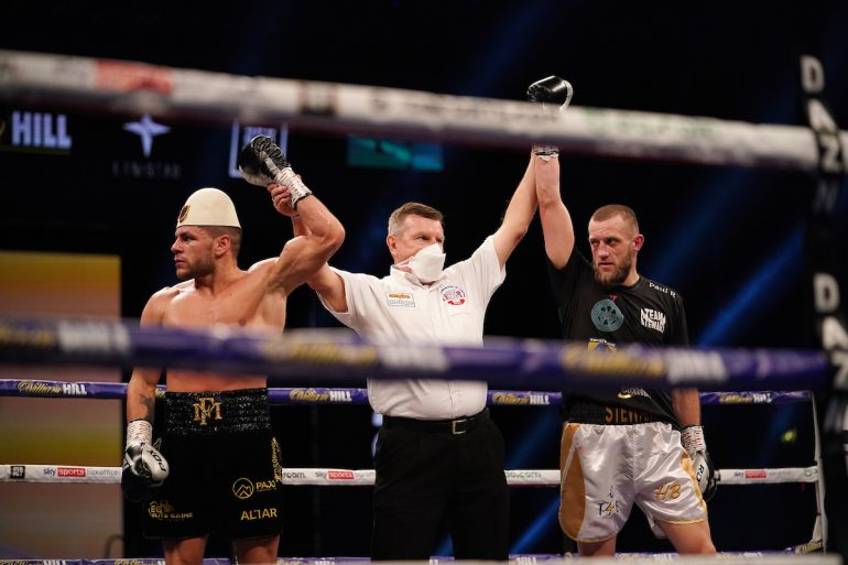 Joshua-Pulev Undercard Action: Welterweight Florian Marku Held To Controversial Draw By Jamie Stewart - The Ring