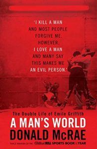 A Man's World book cover 195x300 - Holiday Reading: 2020