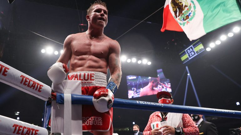 Ring Ratings Update: Canelo closes out 2020 in style