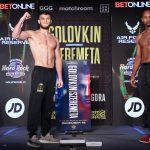 MP102594 150x150 - Photos: Gennadiy Golovkin, Kamil Szeremeta make weight for IBF middleweight title fight