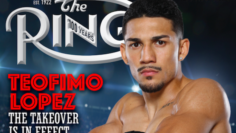 Here's what Teofimo Lopez thinks about being on the cover of RING