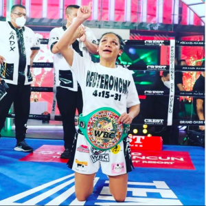 Lourdes Juarez, of Mexico City, rated No. 3 at 112 according to RING.