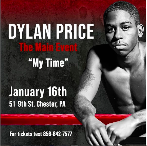 Dylan Price is a bantamweight prospect, with a 16-0 record.