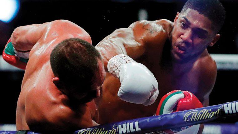 Joshua-Pulev y la escena del peso pesado AJ lució bien ante Pulev - ahora nos debe una pelea de verdad