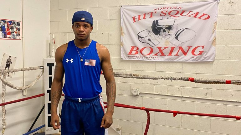Lightweight Nick Sullivan learned importance of staying focused from Pernell Whitaker