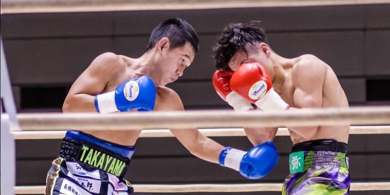Katsunari Takayama (left) vs. Reiya Konishi. Photo credit: Team Takayama