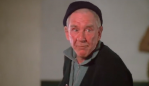 """Burgess Meredith (1907-1997) played Michael """"Mickey"""" Goldsmith in the """"Rocky"""" film series."""