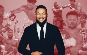 Joe Joyce, age 35, fills out a suit quite nicely.